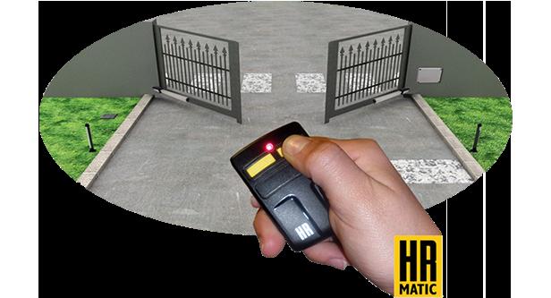 Automatizaci n persiana local o puerta garaje hr matic - Automatizacion de puertas ...